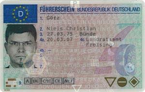 Meine neue Führerscheinkarte